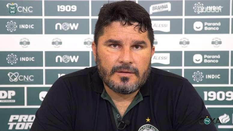 Técnico do Coxa analisa derrota na final do Paranaense. DUGOUT