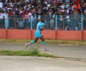 Cristian Martinez was the hero for Liga de Quito. DUGOUT