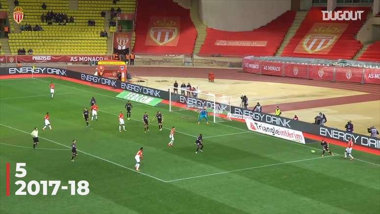 TOP 5 passes décisives de Sidibé à Monaco. DUGOUT