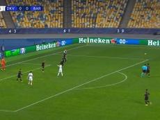 El Barça machacó al Dinamo. DUGOUT