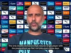Pep could be forced to use a midfielder as a striker. DUGOUT