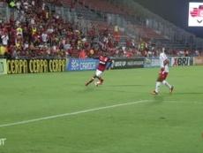 Les premiers buts de Lincoln avec Flamengo. Dugout