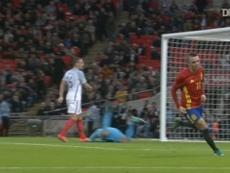 Iago Aspas acumula seis goles con España. DUGOUT