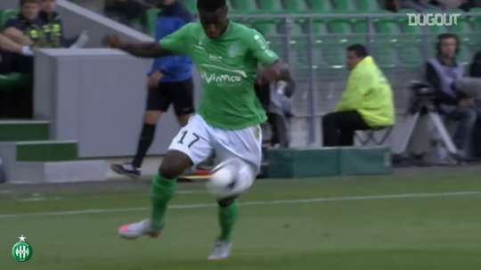 Saint-Etienne have scored some quality goals v Nantes over the years. DUGOUT