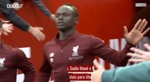 Salah, Mané e Firmino, o trio mortal do Liverpool. DUGOUT
