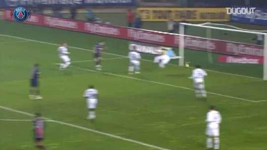 Le triplé de Pauleta contre Bordeaux en 2006. DUGOUT