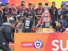 VÍDEO: las imágenes de la fiesta de Colo-Colo tras ganar su primera Supercopa. Captura/Dugout