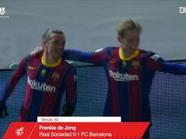 Barcelona beat Sociedad 3-2 on penalties in the Spanish Super Cup semi-final. DUGOUT