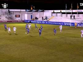 Juanan's goal saw Alcoyano knock Real Madrid out of the Copa del Rey. DUGOUT