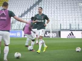 La speciale sessione di allenamento della Juve. Dugout