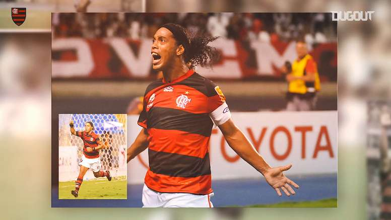 Ronaldinho's best Flamengo moments. DUGOUT