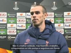 Bale foi titular pela primeira vez neste retorno ao Tottenham. DUGOUT