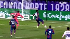 Mickael Malsa put Levante ahead just before half-time. DUGOUT