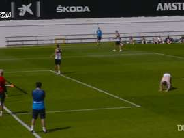 VIDEO: Kevin Gameiro's stunning goal in training. DUGOUT