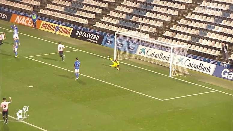 Wu Lei scored this backheel goal. DUGOUT
