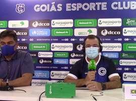 Enderson Moreira vive sua terceira passagem no Goiás. DUGOUT