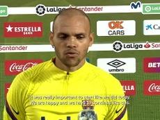 VIDEO: Braithwaite: 'It's amazing to score my first goal'. DUGOUT