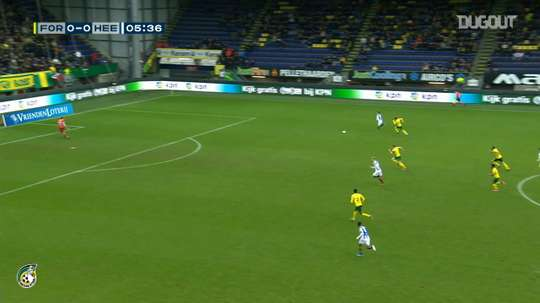 An own goal was the decisive goal in Sittard's 2-1 victory over Heerenveen. DUGOUT