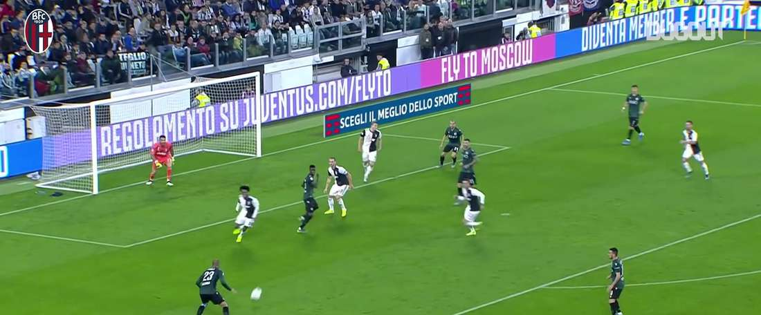 Danilo drew Bologna level at Juventus back in October. DUGOUT