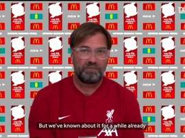 Klopp spoke ahead of the Community Shield. DUGOUT