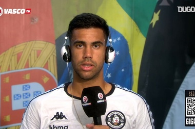 Tiago Reis, o nome da vitória do Vasco na Sul-Americana. DUGOUT