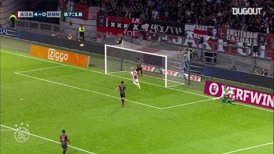 VIDÉO: Les meilleurs buts de l'Ajax contre Emmen. Dugout