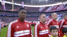 Bayern won the Champions Legaue. DUGOUT