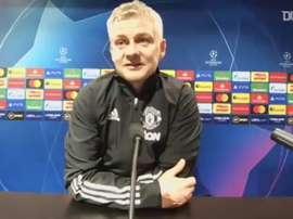 Ole-Gunnar Solskjaer defende Fred após expulsão contra o PSG. DUGOUT