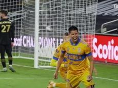 Les buts des Tigres en finale de la CONCACAF 2020. DUGOUT