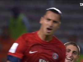 Zlatan se cansó de meter goles en el PSG. DUGOUT