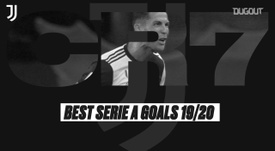 Ronaldo scored some great goals for Juventus in 19/20. DUGOUT