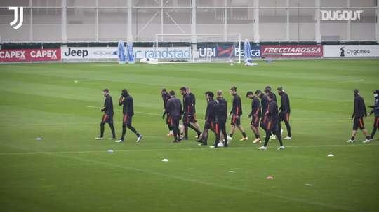 CR7 y compañía se preparan para rugir ante el Dinamo. DUGOUT