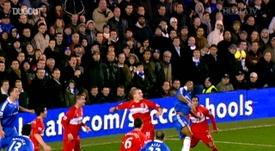 Gols de Salomon Kalou pelo Chelsea. DUGOUT