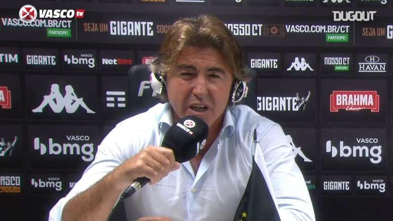 Ricardo Sá Pinto conta como ganhou camisa do Vasco de Romário. DUGOUT