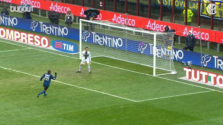 Dejan Stankovic scored three times as Inter beat Parma 5-2. DUGOUT