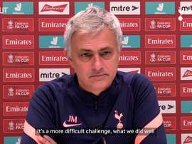Mourinho: We need more than we gave against Marine to beat Wycombe. DUGOUT