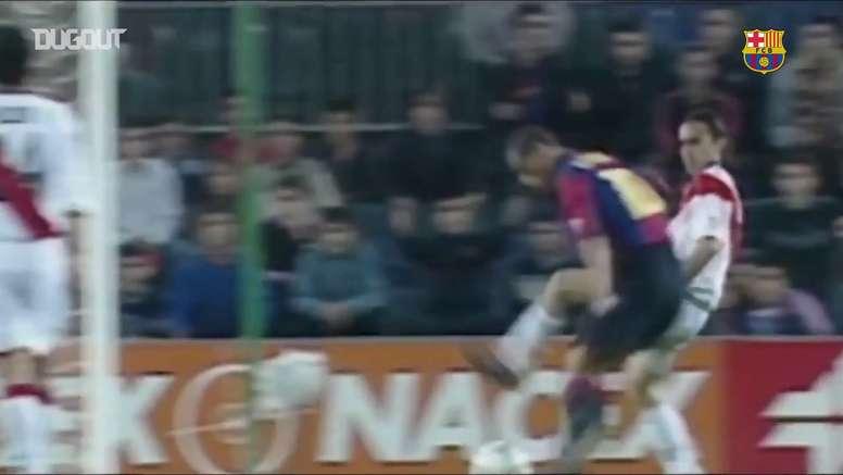 Les meilleurs moments de Rivaldo à Barcelone. DUGOUT