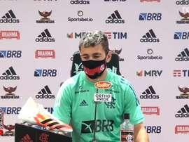 Arrascaeta comentou sobre as características do Fluminense, adversário desta quarta-feira. DUGOUT