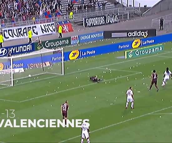 Grenier's best five goals at Lyon. DUGOUT