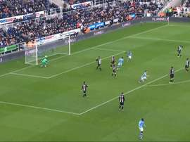 Kevin de Bruyne scored a fantastic goal as Man City drew with Newcastle. DUGOUT
