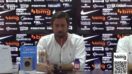 Presidente do Corinthians garante mais de R$ 100 milhões em patrocínios. DUGOUT