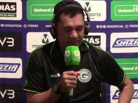 Glauber Ramos falou após empate do Goiás com Fortaleza. DUGOUT