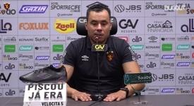 Jair Ventura explica estratégia e vê jogo atípico em derrota para o Vasco. DUGOUT