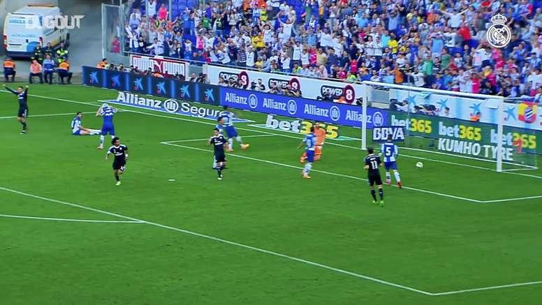 Marcelo marca contra o Espanyol após assistência de CR7. DUGOUT