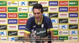 Emery talks Messi ahead of Barca clash