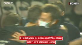 Conheça o FC Midtjylland, o novato e caçula da Champions League. DUGOUT
