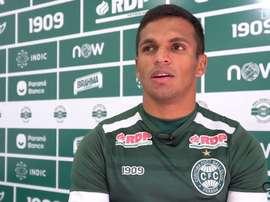 Robson analisa volta do Coritiba ao futebol. DUGOUT
