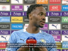 Sterling gave his thoughts post-match. DUGOUT