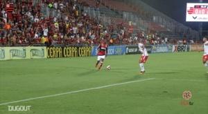 Flamengo won 1-0 against Bangu. DUGOUT