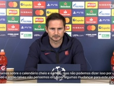 Lampard admite rodízio contra o Sevilla. DUGOUT